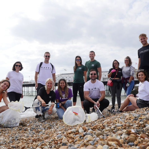 Cocabana Beach Clean at Brighton UK