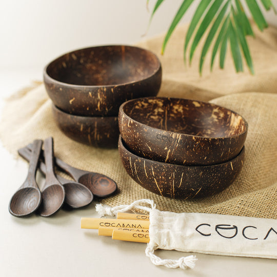 Feed the Family Coconut Bowl Set