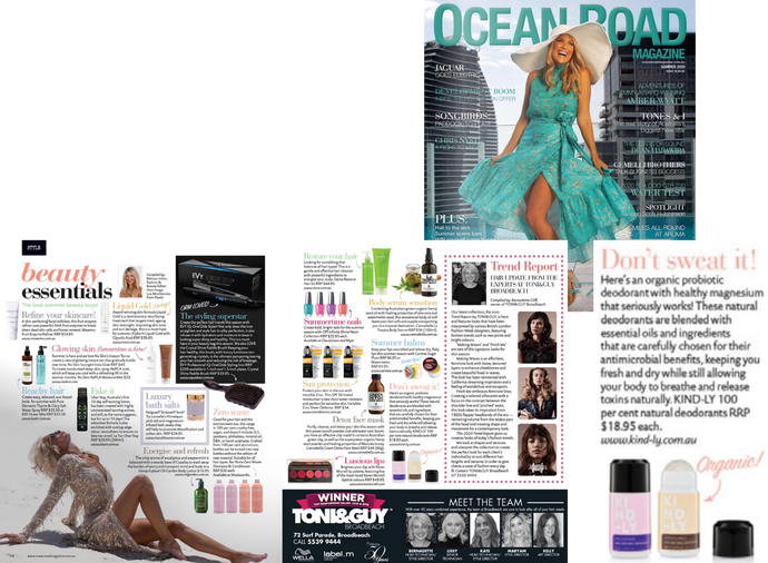 Ocean Road Magazine: Beauty Essentials