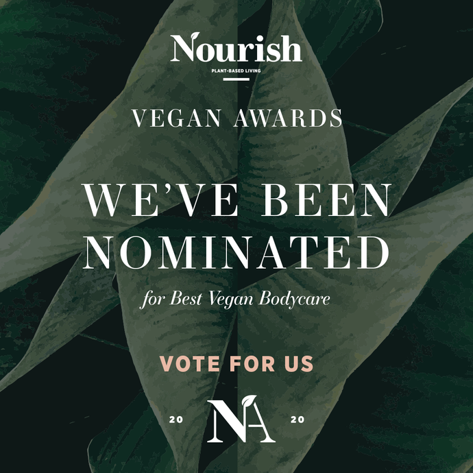 Best Vegan Bodycare - Nourish Vegan Awards 2020