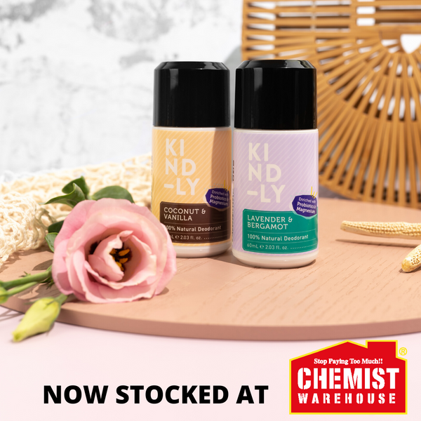 KIND-LY Natural Deodorant Chemist Warehouse