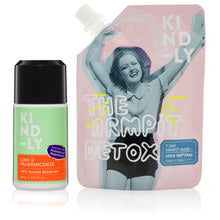 Load image into Gallery viewer, KIND-LY 100% Natural Deodorant Lime & Frankincense & The Armpit Detox
