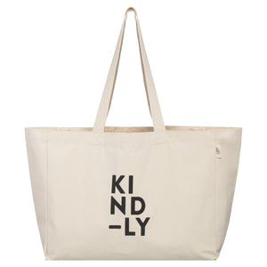 Organic Cotton Pocket Tote Shopping Bag