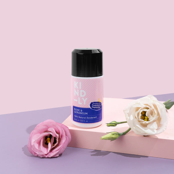 Rose & Geranium - 100% Natural Deodorant