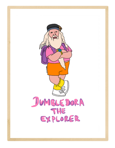 Dumbledora The Explorer Print