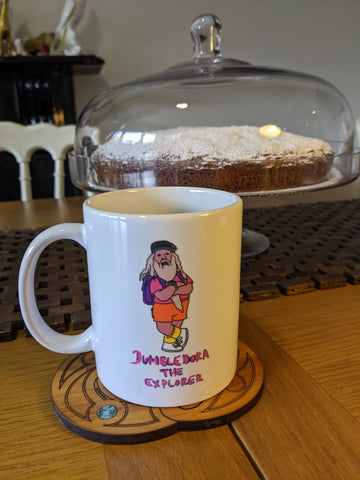 Dumble-dora The Explorer Mug