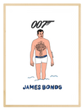 James Bonds Print