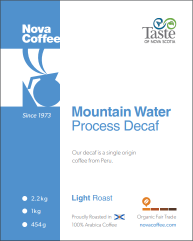 Mountain Water Decaf  Light roast