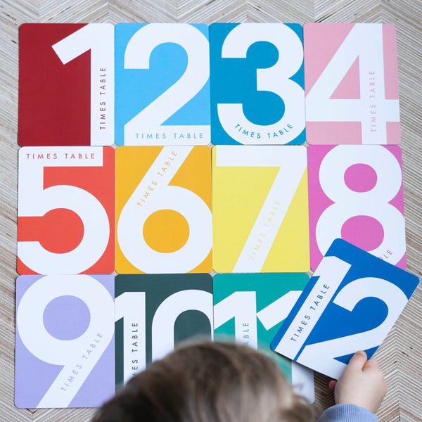 Mini Parade - Times Tables Flash Cards