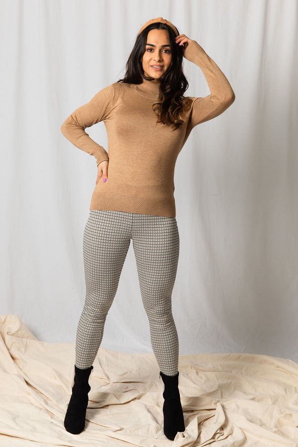 B.Young Dogtooth Leggings