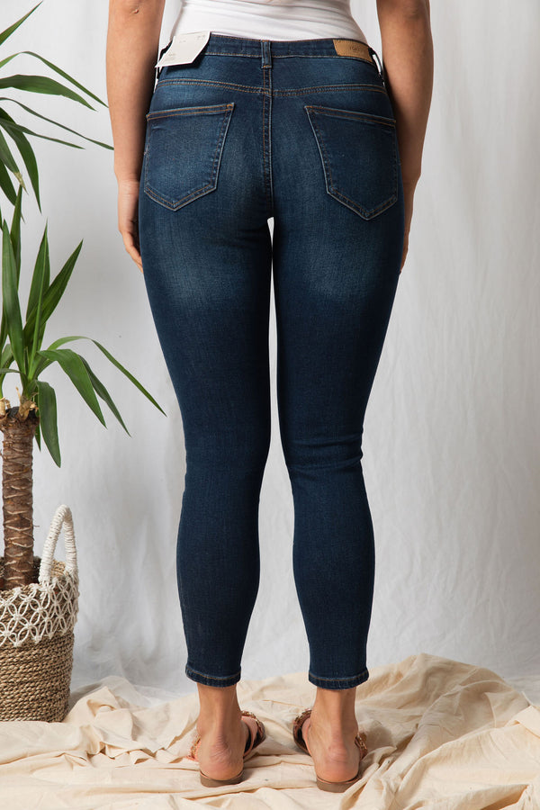 ICHI Lulu Medium Blue Jeans