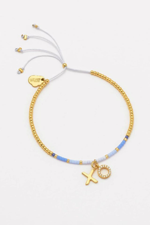 Louise Gold Plated XO Bracelet