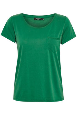 Soaked In Luxury Pine Green Tee
