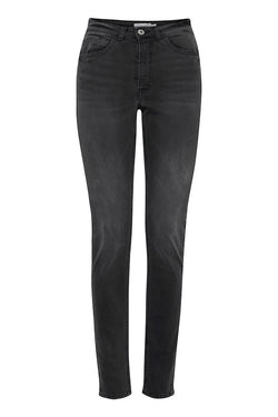ICHI Lulu Washed Grey Jeans