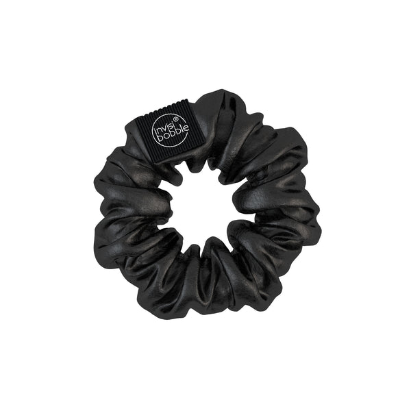 Invisibobble Scrunchie- Black Leather Look