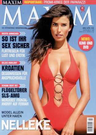 MAXIM März/April 2010 - Cover