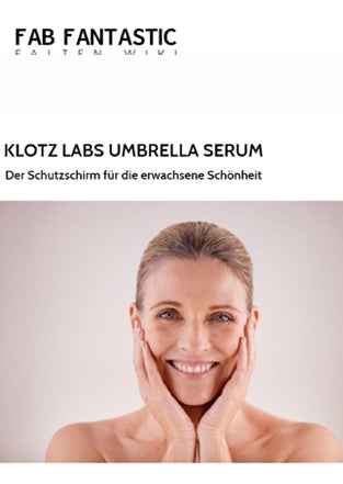 Klotz Labs Umbrella Serum in der FAB-FANTASTIC Februar 2019