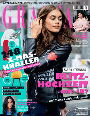 Klotz Labs Vitamin C Booster in der GRAZIA November 2019