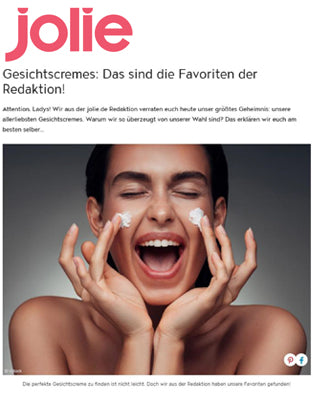 Hyaluron Benefit Creme in der Online Jolie August 2019