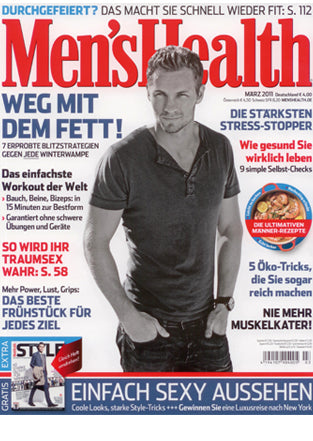 MEN'S HEALTH April 2011 - Cover