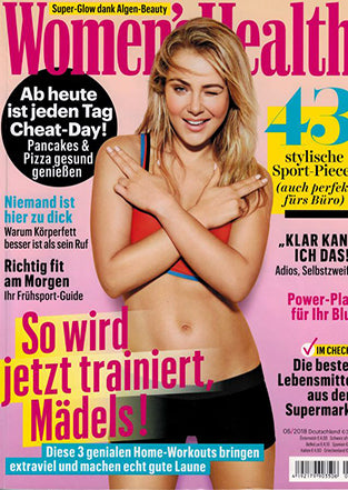 Klotz Labs Vitamin A Booster Serum in der Women's Health April 2018
