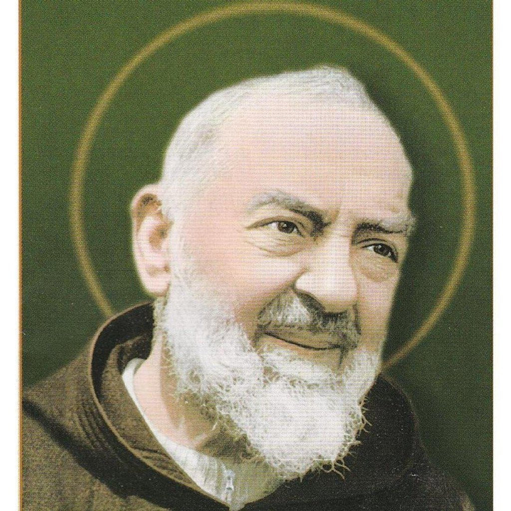 St. Father Pio Holy Cards