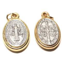 Dual Color St. Benedict Medal