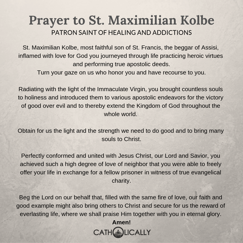 Prayer to Kolbe