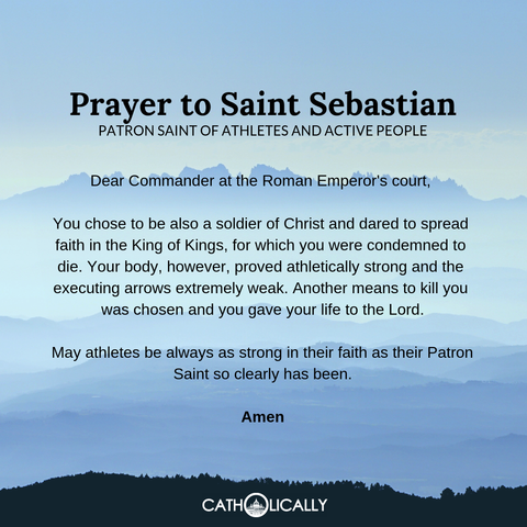 Prayer to St. Sebastian