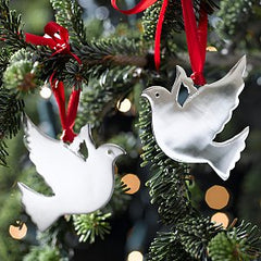 Doves on a Christmas tree
