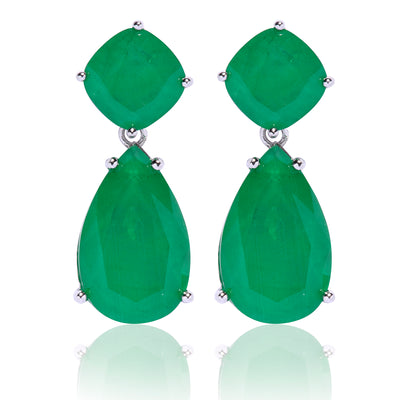 Green Emerald Drop