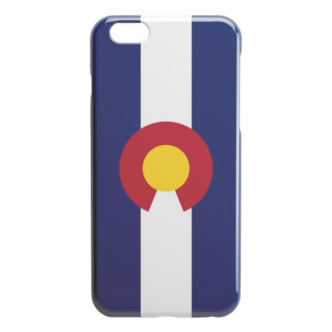 Image of Colorado Flag iPhone Slim or Tough Case - TipsyPrint.com