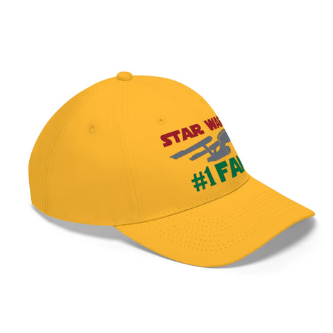 Image of Star Wars #1 Fan Funny Star Trek Mix Unisex Twill Hat - TipsyPrint.com