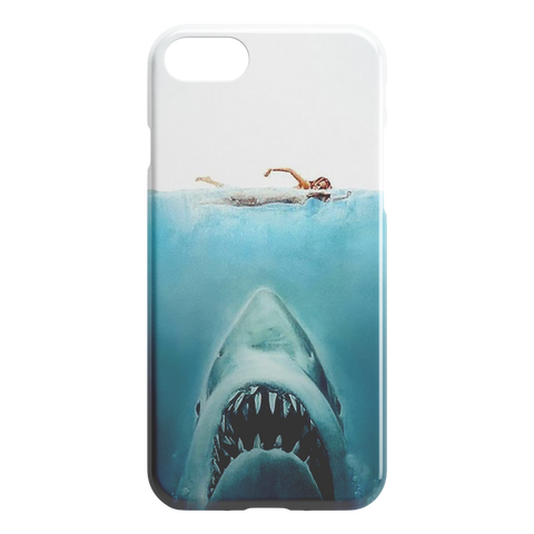 Jaws iPhone Slim or Tough Phone Case - TipsyPrint.com