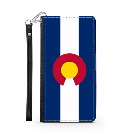Image of Colorado Flag Wallet Phone Case - TipsyPrint.com