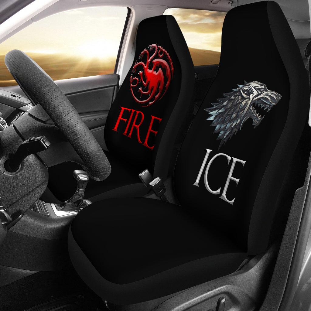 Fire and Ice Game of Thrones Universal Seat Covers