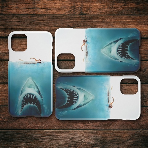 Image of Jaws iPhone Slim or Tough Phone Case - TipsyPrint.com