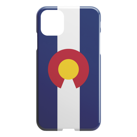 Colorado Flag iPhone Slim or Tough Case - TipsyPrint.com