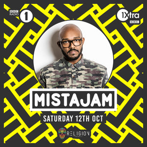 MistaJam - 12th Oct 2019 - Religion Walsall