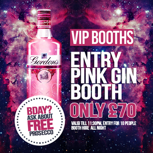 Pink Gin VIP Package