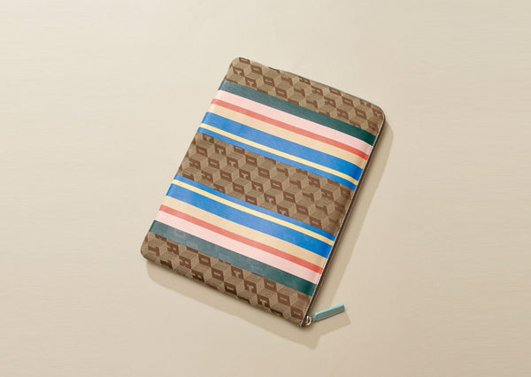 LAPTOP CASE CORTO X LUCY FOLK / PLAYA RACER STRIPES