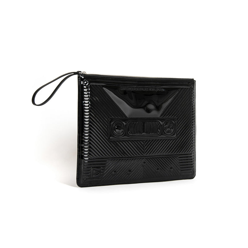 CASSETTE BIG CLUTCH BLACK MIRROR