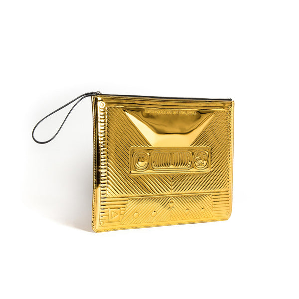 CASSETTE BIG CLUTCH GOLD MIRROR