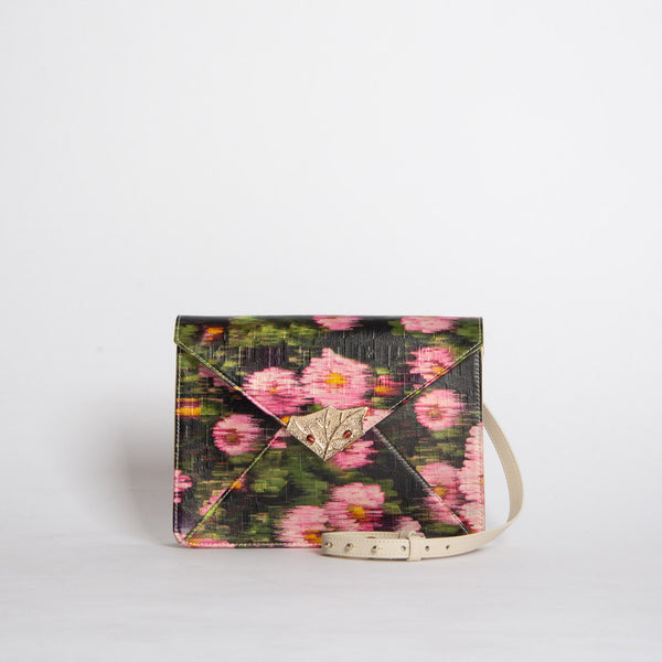 TIFFANY FADED FLOWERS CLUTCH