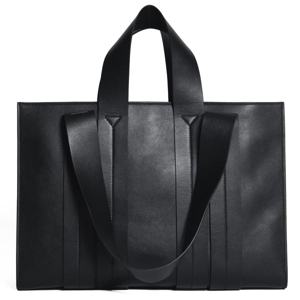COSTANZA BAG L VITELLO BLACK