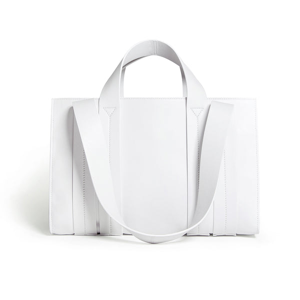 COSTANZA BAG M NAPPA WHITE