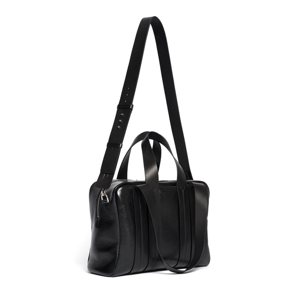 COSTANZA ZIP NAPPA LUX BLACK