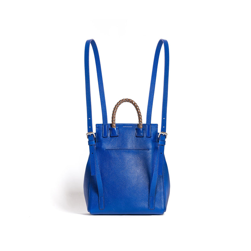 PRISCILLA BACKPACK GOAT CHINA BLUE