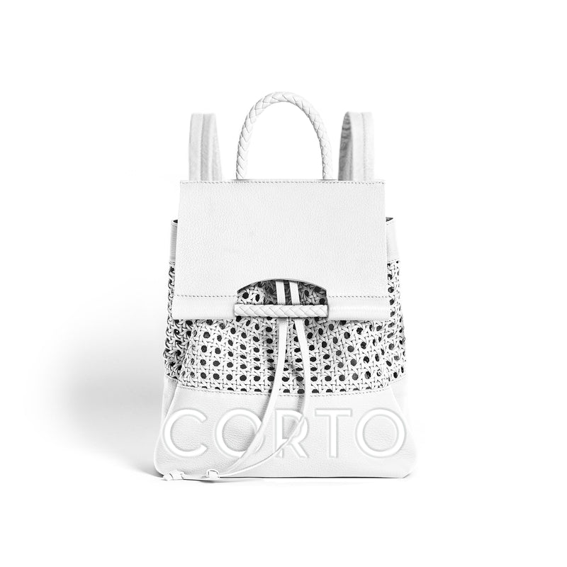 PRISCILLA BACKPACK BENTOTA WHITE/CORTO
