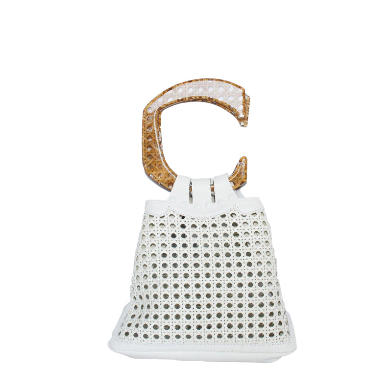 C EVENING BAG BENTOTA WHITE